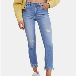 Free People | Great Heights Frayed Skinny Jeans